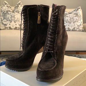 Prada suede boots size 37